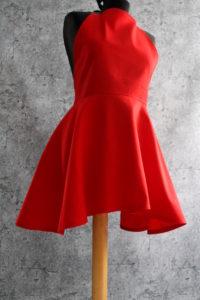 fartuszek jak sukienka czerwony 200x300 fartuszek jak sukienka czerwony