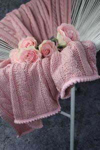 kocyk różowy 200x300 kocyk różowy