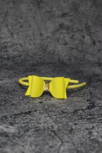 opaska żółta ze złotym 200x300 opaska żółta ze złotym