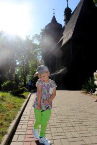 koszulka zmieniająca kolore we flamingi 2 200x300 Fotoreportaż ze Szlaku Architektury Drewnianej województwa śląskiego  Kościoły