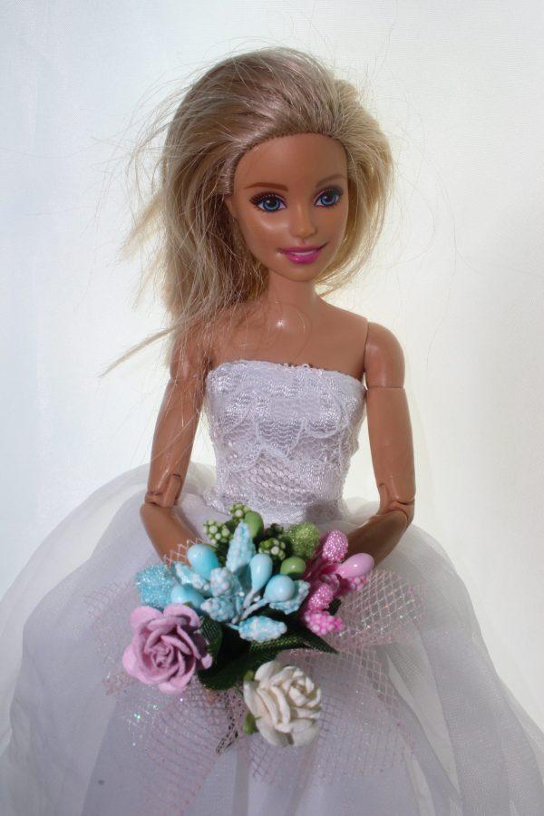 mini kwiaty, kwiaty dla barbie