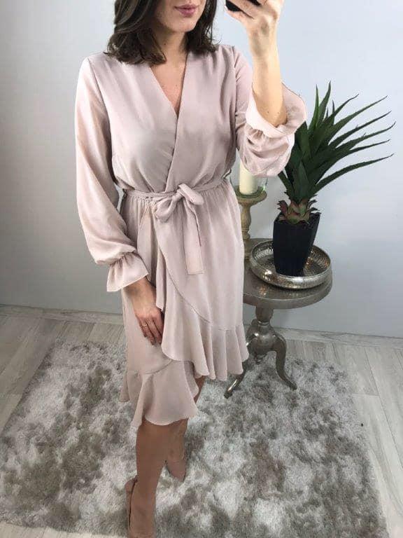sukienka szyfonowa 38