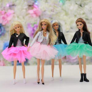 zestaw ubranek dla lalek barbie