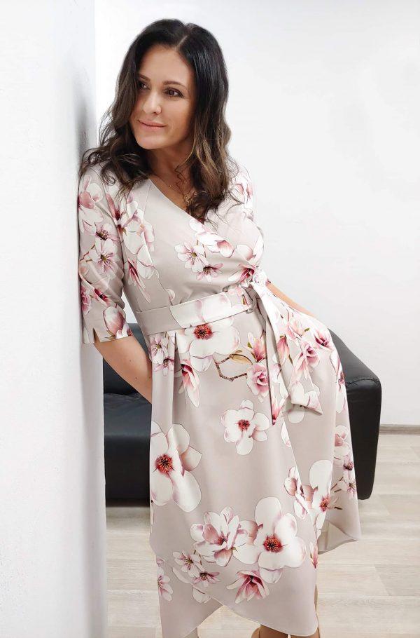 sukienki w kwiaty r. 44