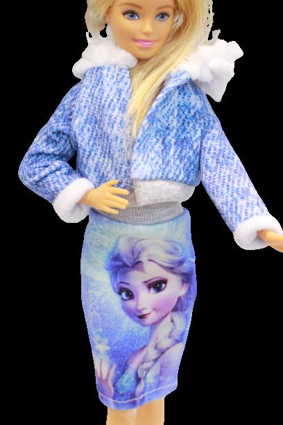Ubranka Dla Lalek barbie z frozen