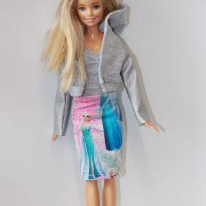 ubranka dla lalek barbie zestaw ubranek