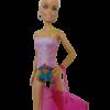 strój kąpielowy dla lalki barbie