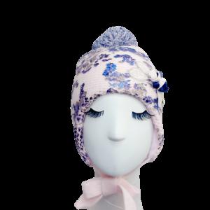 zimowa czapka dla dziewczynki 52 54